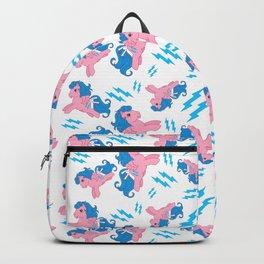 g1 My Little Pony Firefly pattern Backpack