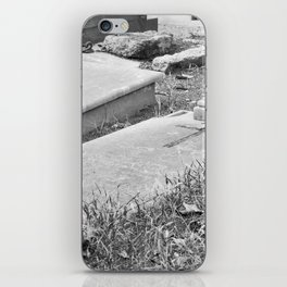 Old Grave iPhone Skin