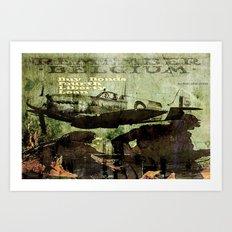 Buy Bonds Art Print