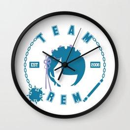 Team REM Wall Clock