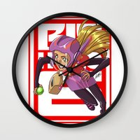 arsenal Wall Clocks featuring Add some honey and lemon by Eisu's Art for sale: Prints and stuff