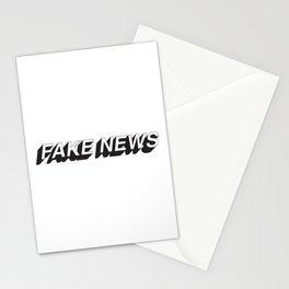 FAKE NEWS Stationery Cards