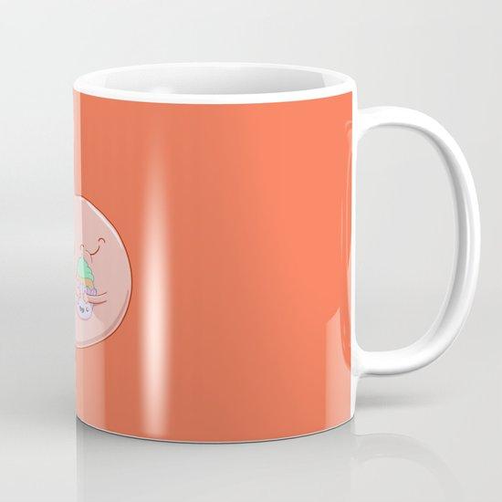 My Stomach Loves Cupcakes Mug