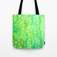 sprinkles Tote Bags featuring Sprinkles by Rosie Brown