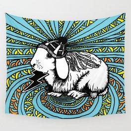 Patrick Swayze the rabbit Wall Tapestry