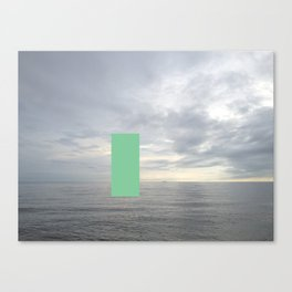 censored: unsightly sailboat Canvas Print