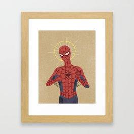 The Gospel of Spider-Man Framed Art Print