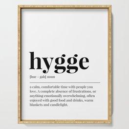 Hygge Serving Tray