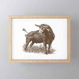 Bullseye Framed Mini Art Print