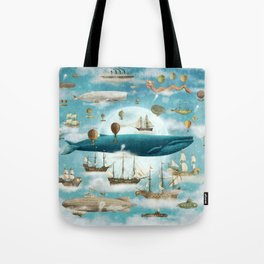 Ocean Meets Sky - option Tote Bag