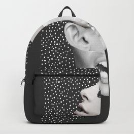 collage art / Faces 2 Backpack