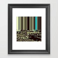 TRACTORUS Framed Art Print