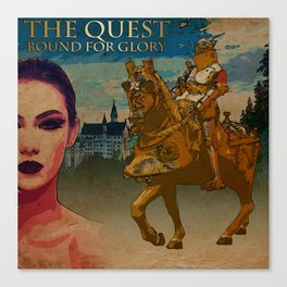 The Quest, Bound For Glory Canvas Print