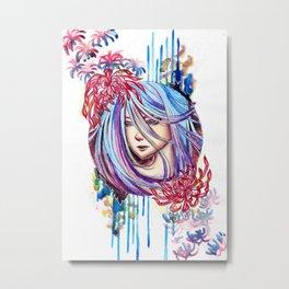 Hanabi Metal Print