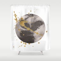 universe Shower Curtains featuring Universe by Dream Of Forest