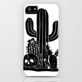 Valley Cactus iPhone Case