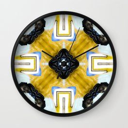 Surrealism Of Heads - Inspired By Dali Wall Clock