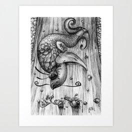 Fish Fall Art Print