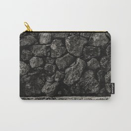 NOIR ABSTRACT / Stack Carry-All Pouch