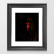 Maul by Firelight Framed Art Print