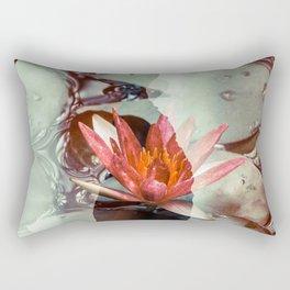 Lotus 01 Tas Rectangular Pillow
