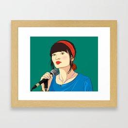 Emily Browning - God Help the Girl Framed Art Print