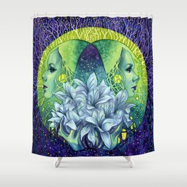 Empathic Shower Curtain