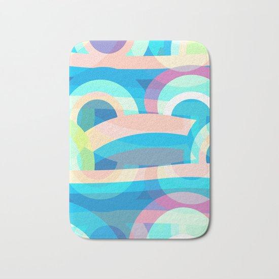 Marine abstraction Bath Mat