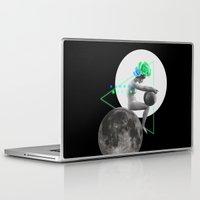 moonrise Laptop & iPad Skins featuring Moonrise by Manuja Waldia