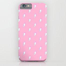 I Am Thunder (Glitched) iPhone Case