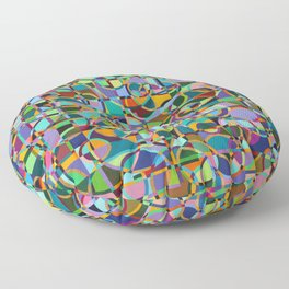 Emergence Refraction Floor Pillow