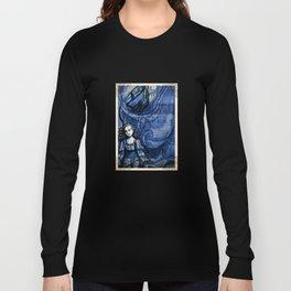 The Tempest - Miranda - Shakespeare Folio Illustration Long Sleeve T-shirt