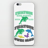 iwatobi iPhone & iPod Skins featuring Iwatobi - Orca by drawn4fans