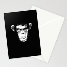 Evil Monkey Stationery Cards