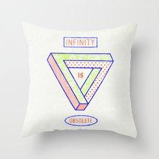 NONFINITY Throw Pillow