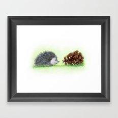 Spiky Duo Framed Art Print