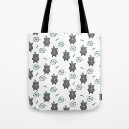 Cat fart Tote Bag