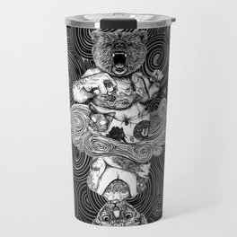Grizzly and Sphynx Travel Mug
