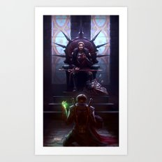 Judgement Art Print
