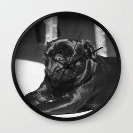 Dog by Jorge Zapata Wall Clock