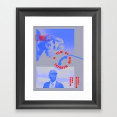 PARIS, TEXAS Framed Art Print