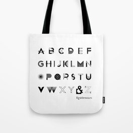 Modernissimo Font Tote Bag
