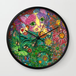 Hide N Seek Wall Clock