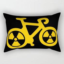 Radioactive Bicycle Rectangular Pillow