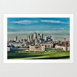 London - Canary wharf Towers Art Print