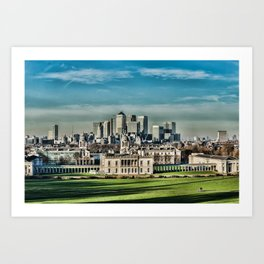 London - Canary wharf Towers Art Print