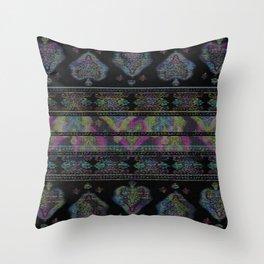 Persian Carpet  Distressed 1 Throw Pillow