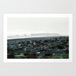 Contrasting scenery Art Print