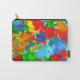 Multicolored splashes Carry-All Pouch