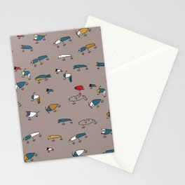 Brown Lures Stationery Cards
